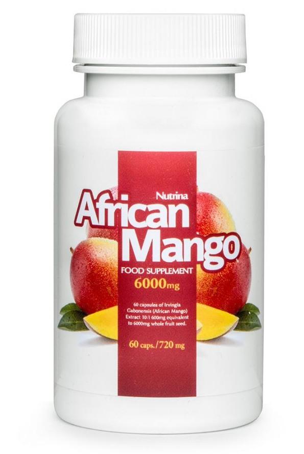 african mango - tabletki wspomagające odchudzanie