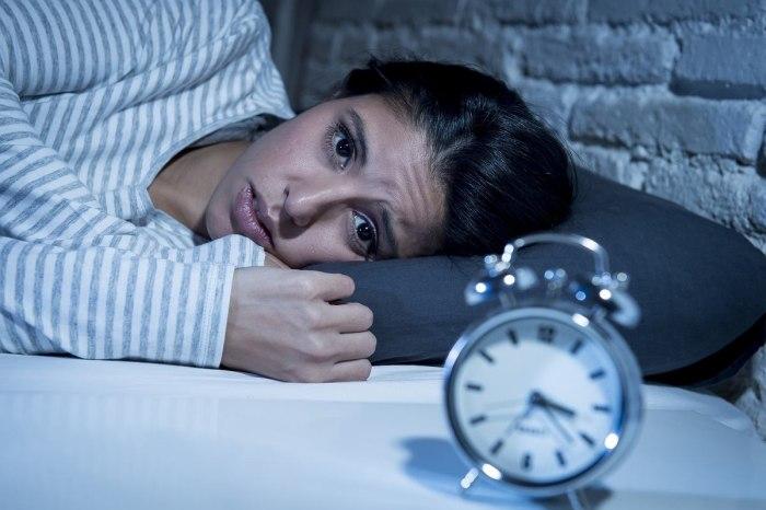 problemy ze snem są męczące