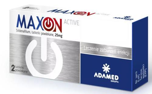 maxon active i forte na potencję