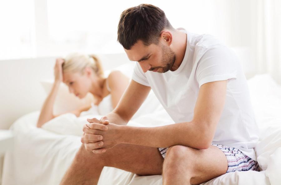 problemy z erekcją dotykają każdego faceta