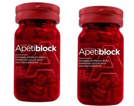 apetiblock ma zmniejszyć uczucie głodu
